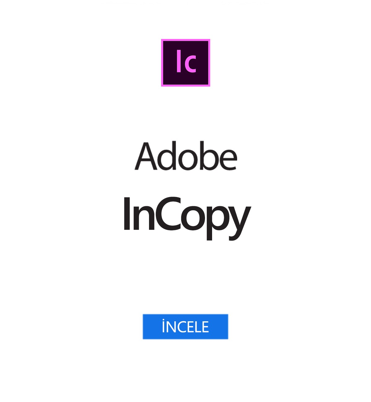 InCopy