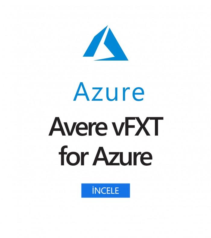 Azure için Avere vFXT