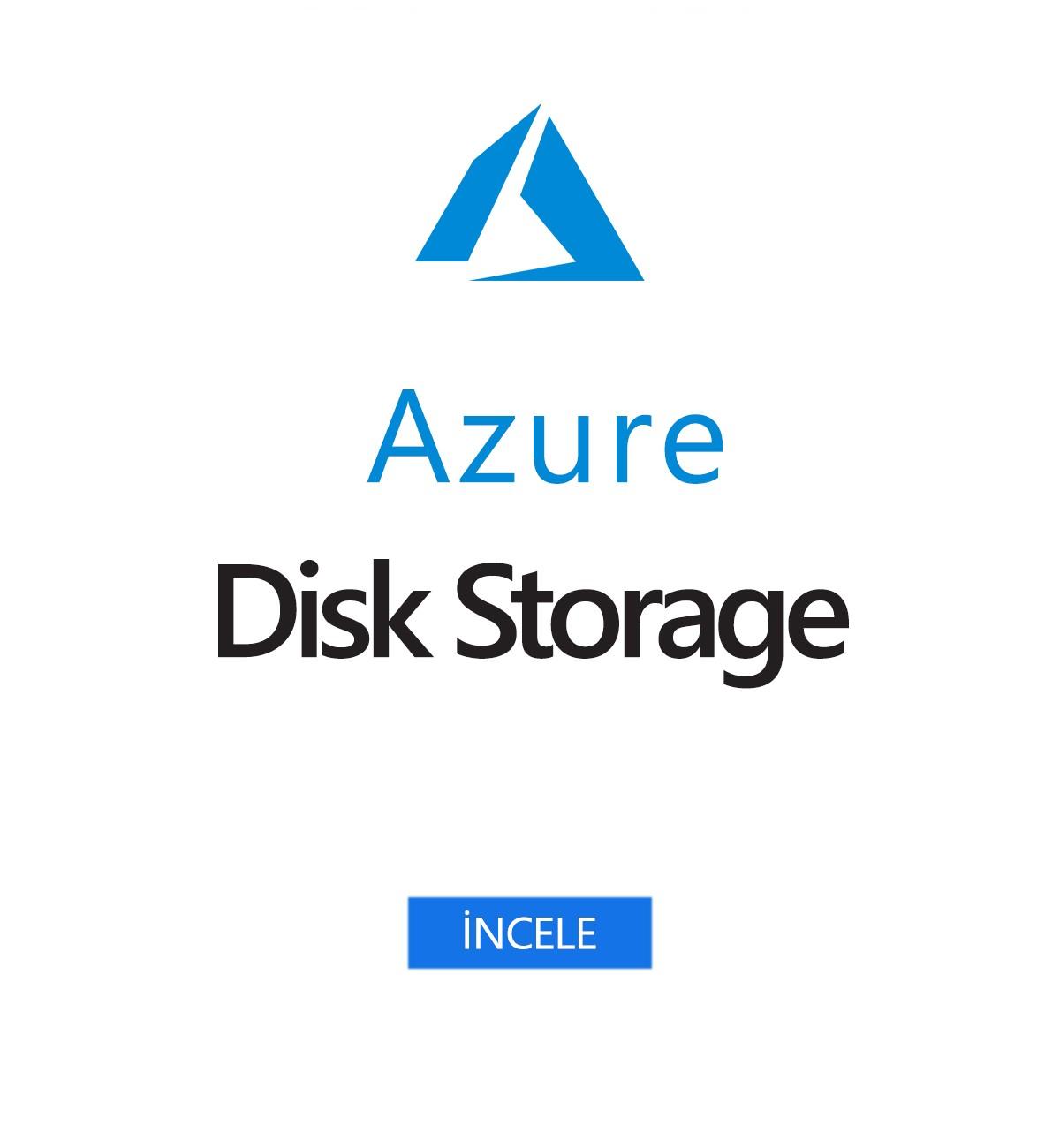 Azure Disk Depolama