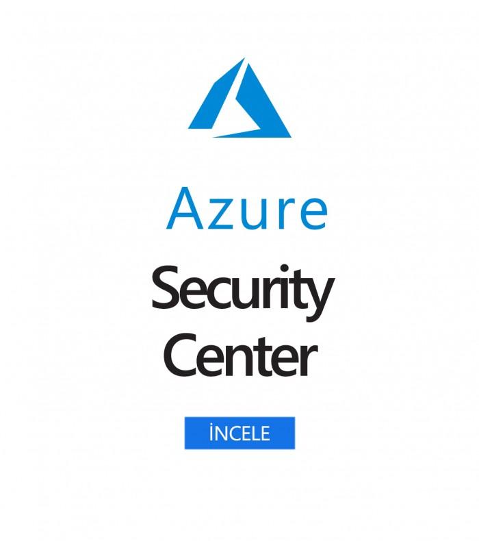 Azure Güvenlik Merkezi