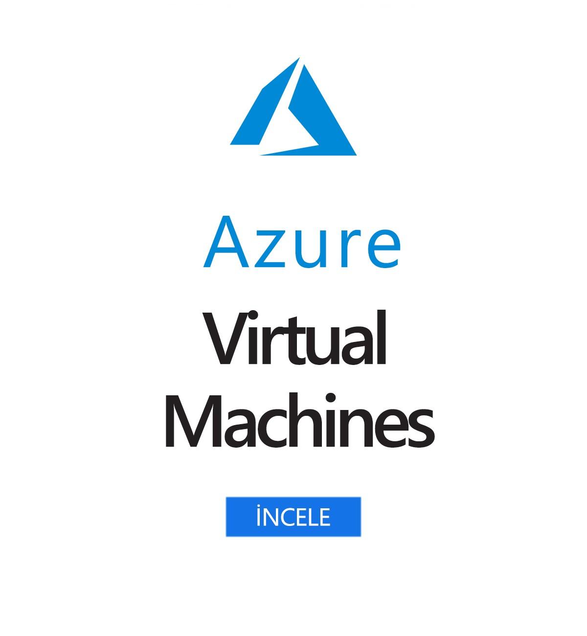 Azure Sanal Makineler