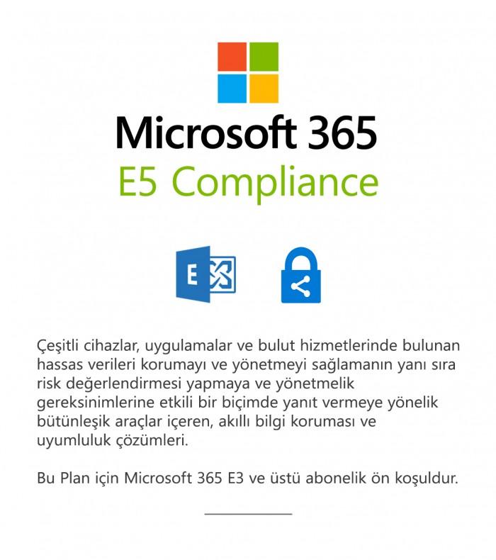 Microsoft 365 E5 Uyumluluk