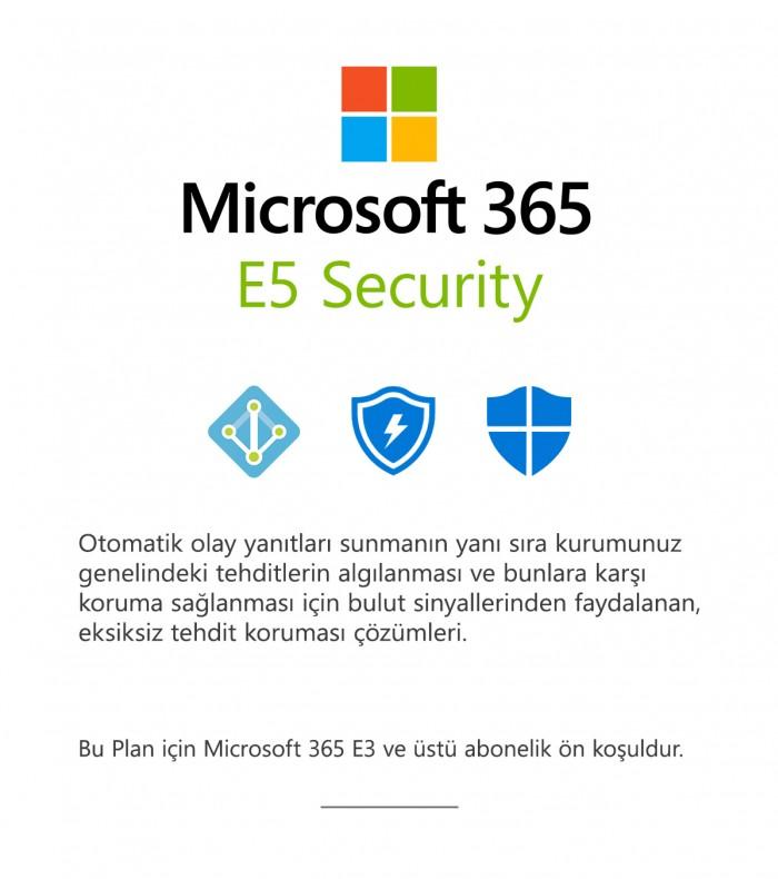 Microsoft 365 E5 Güvenlik