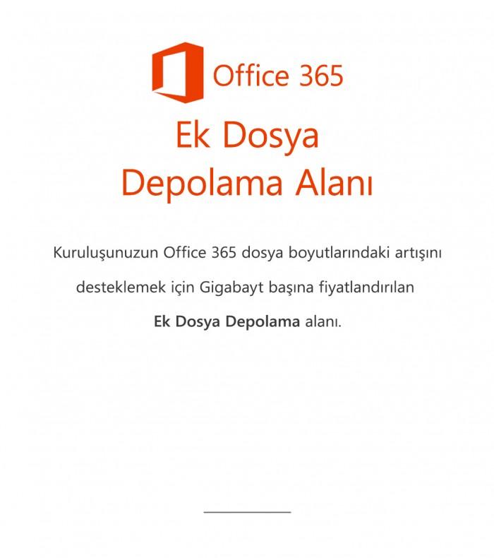 Office 365 Ek Dosya Depolama Alanı