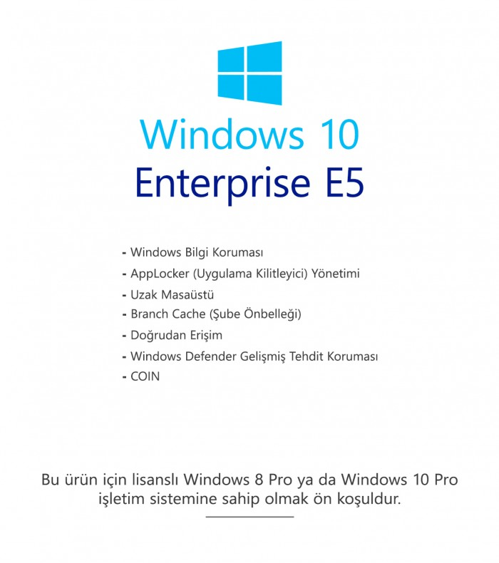 Windows 10 Enterprise E5
