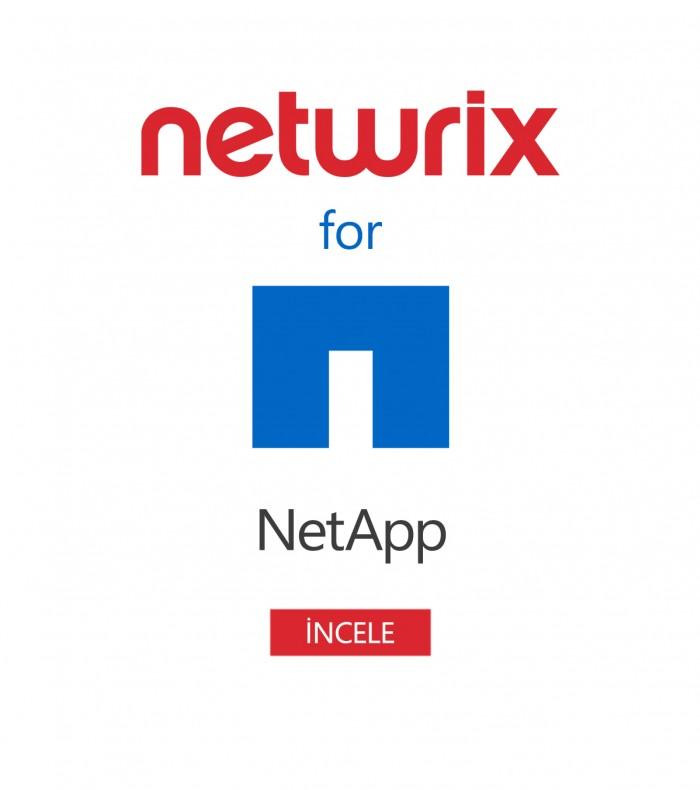Netwrix Auditor for NetApp