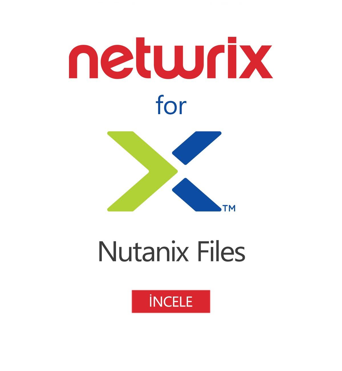 Netwrix Auditor for Nutanix Files
