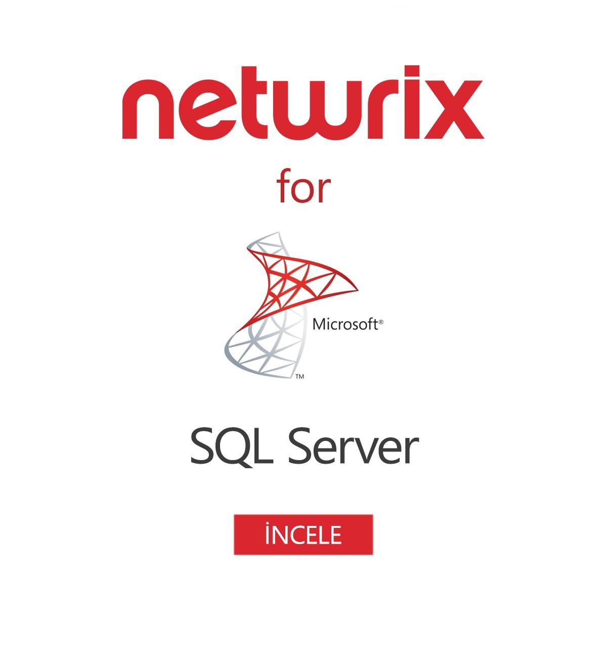 Netwrix Auditor for SQL Server