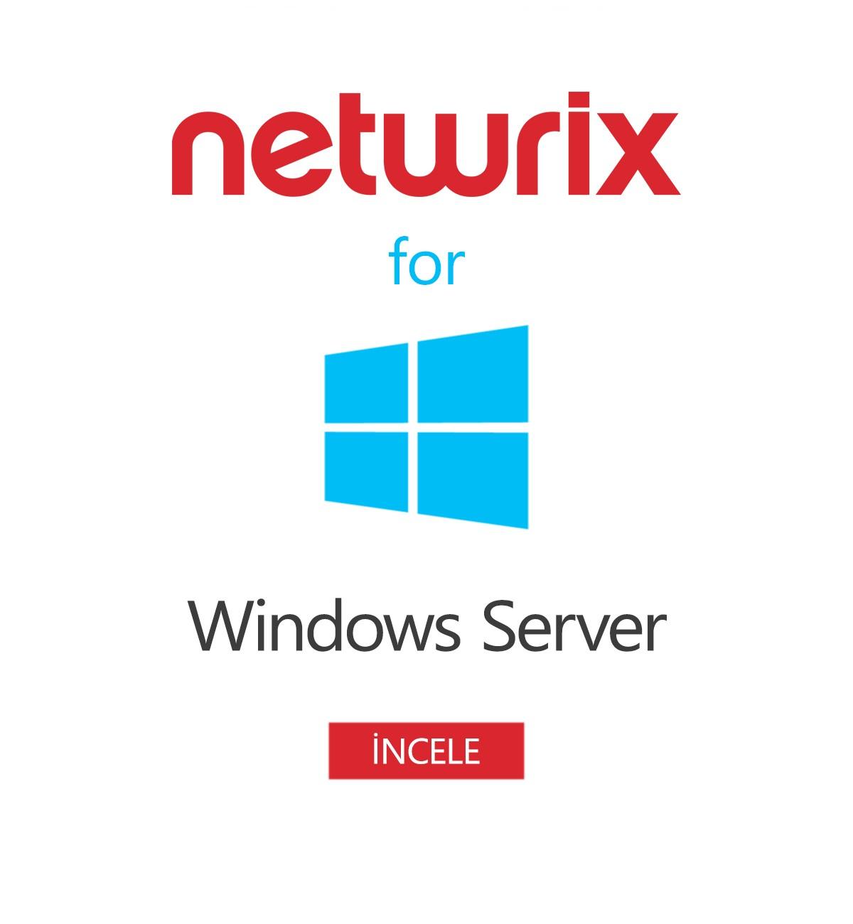 Netwrix Auditor for Windows Server