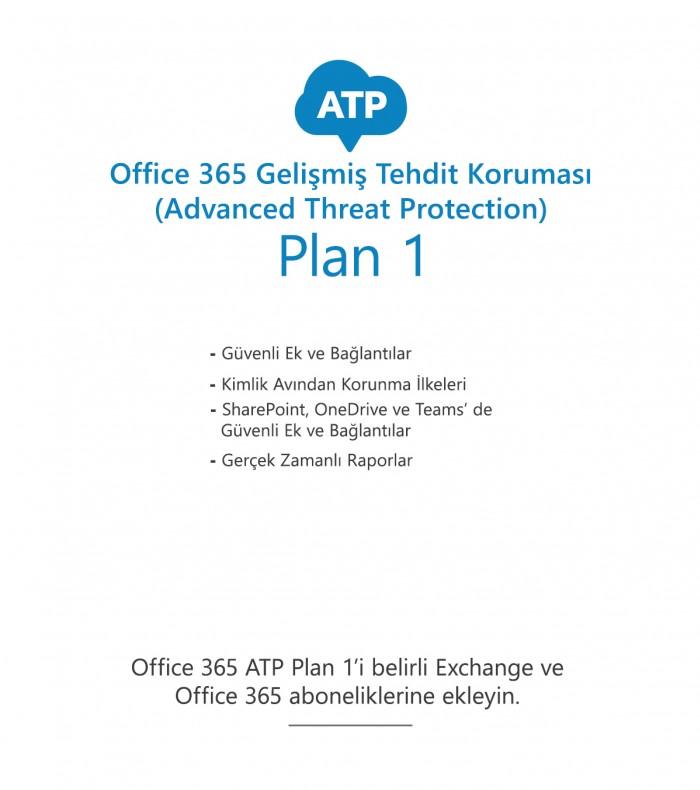 Office 365 Gelişmiş Tehdit Koruması (ATP) Plan 1