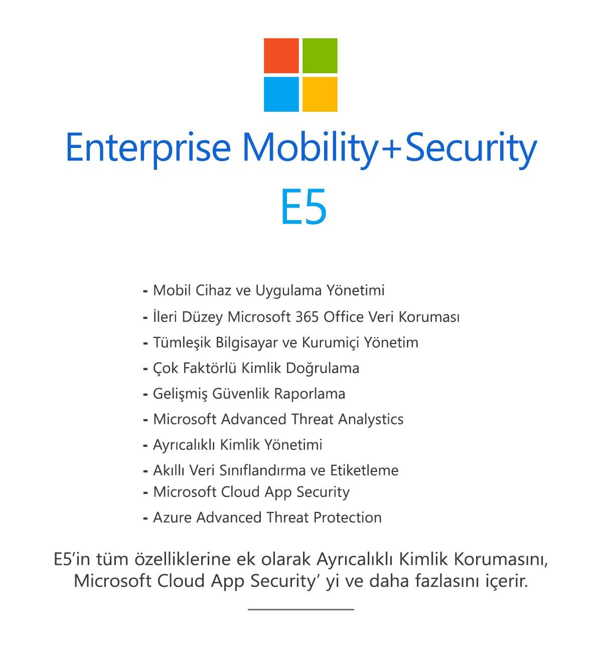Enterprise Mobility+Security E5