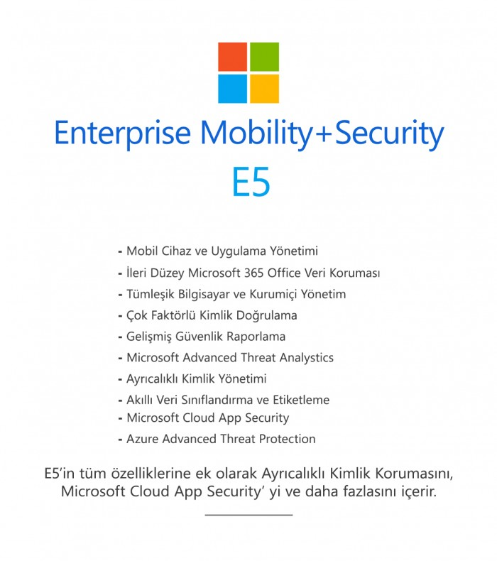 Enterprise Mobility+Security E5
