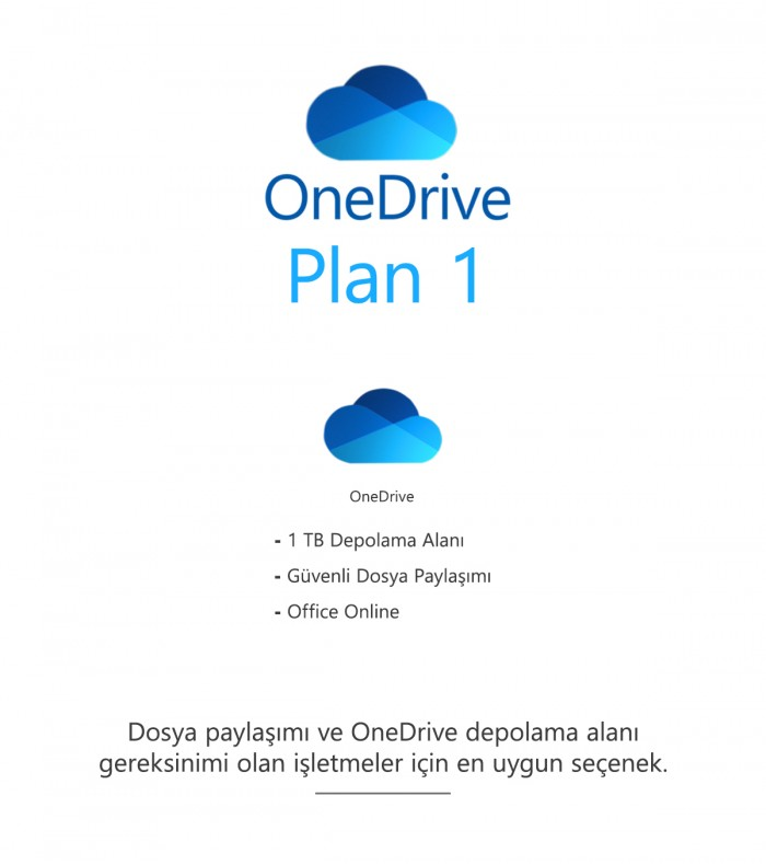 OneDrive Plan 1