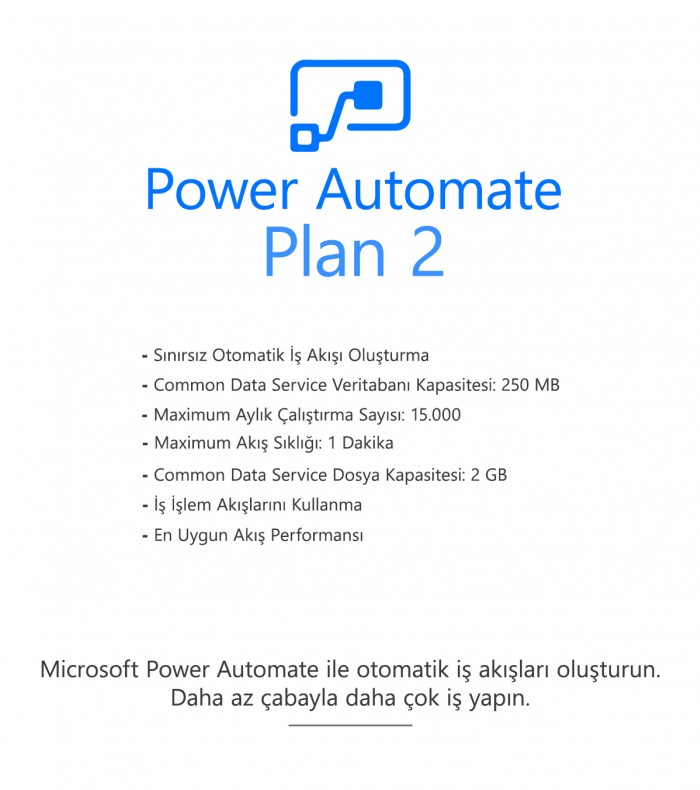 Power Automate Plan 2