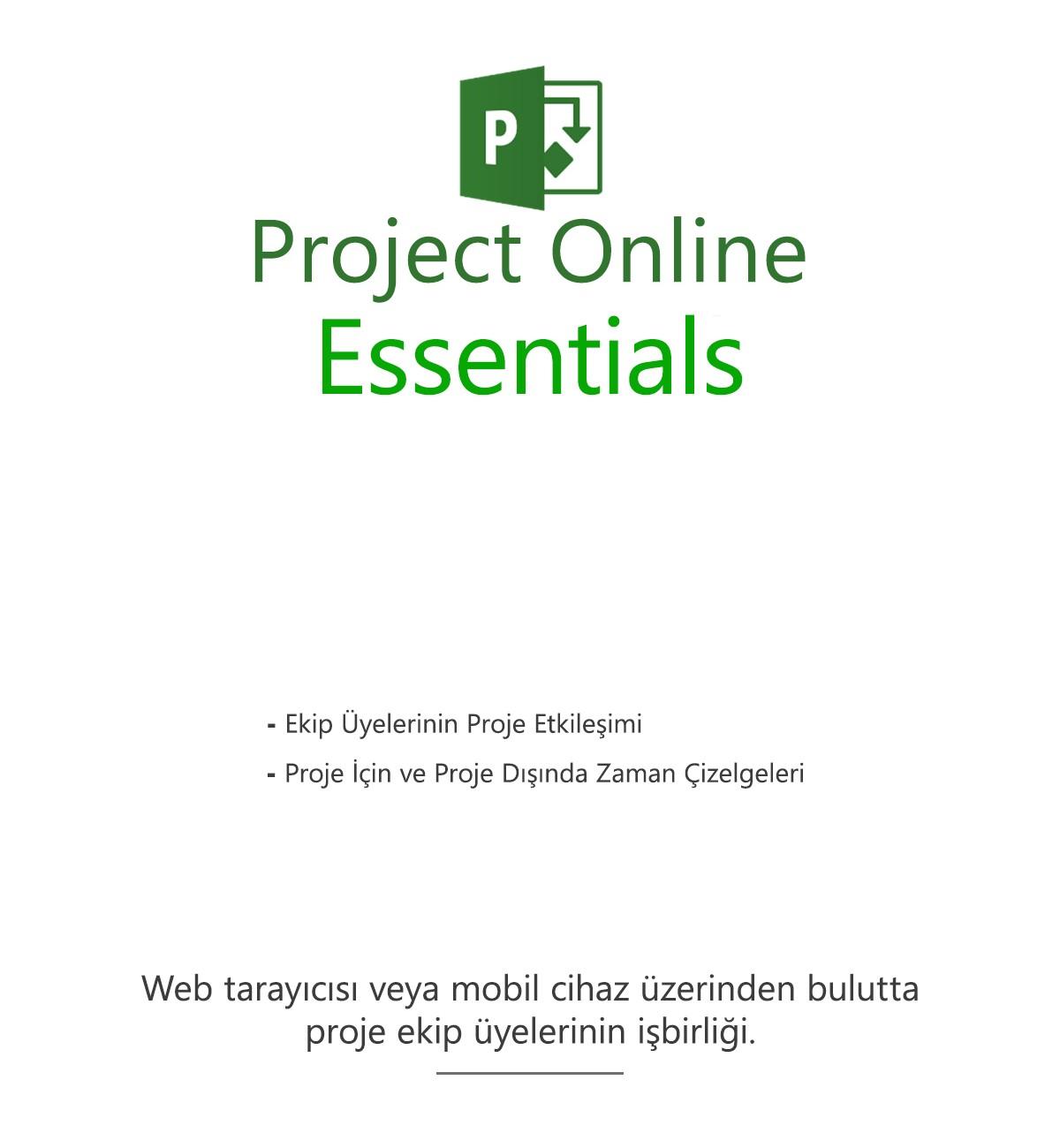 Project Online Başlangıç