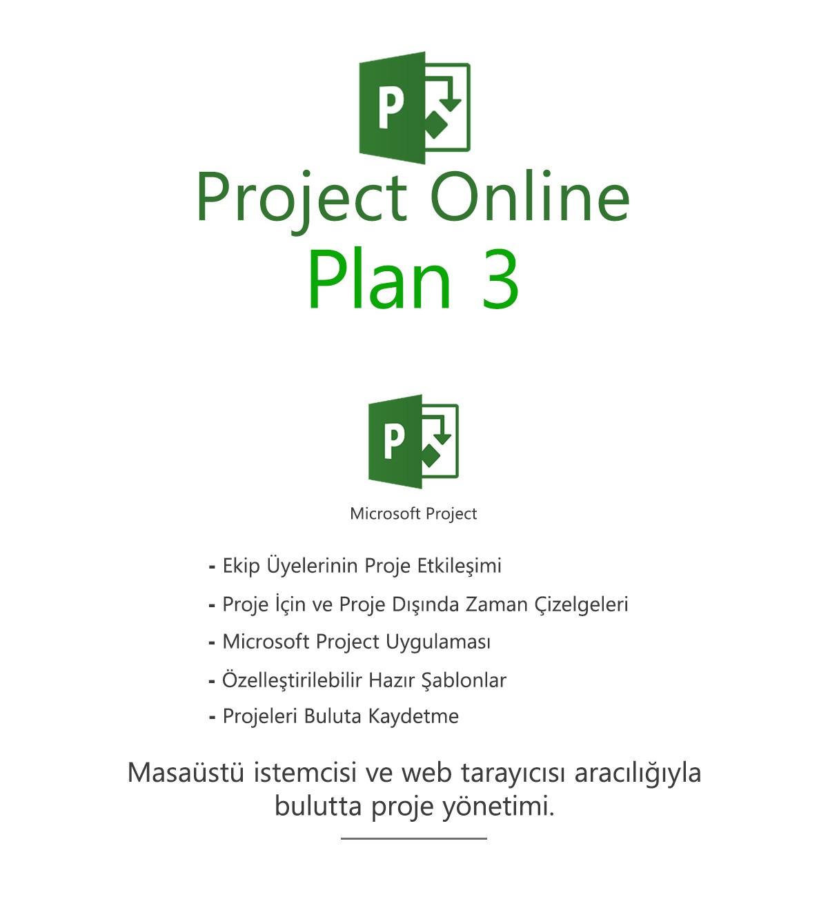 Project Online Plan 3