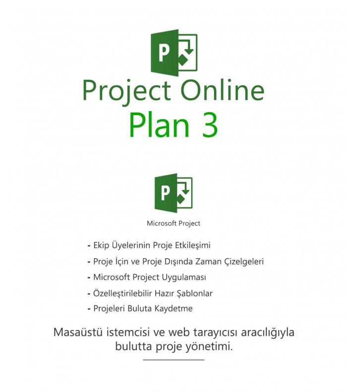 Project Online Plan 3
