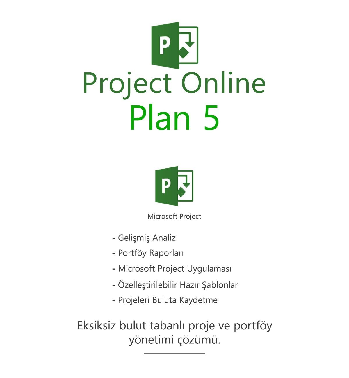 Project Online Plan 5