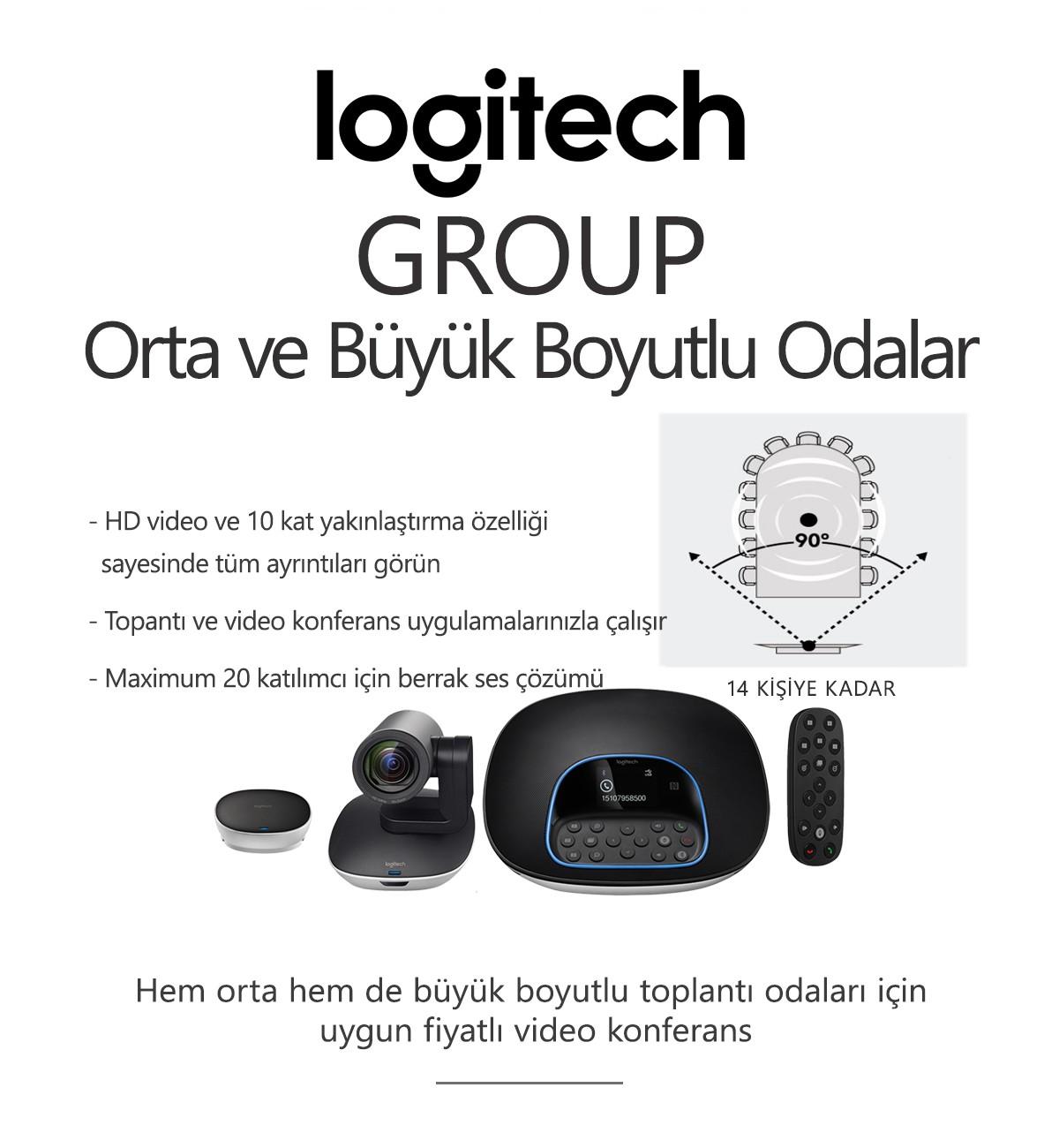 Logitech GROUP Konferans Sistemi