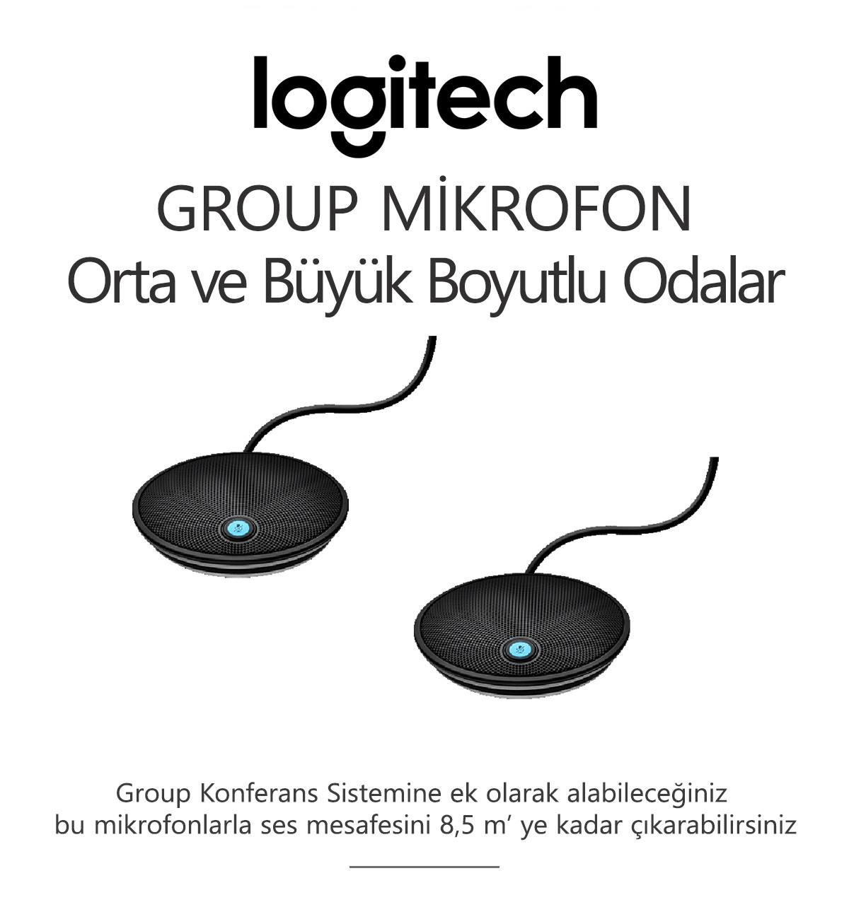Logitech GROUP MİKROFON