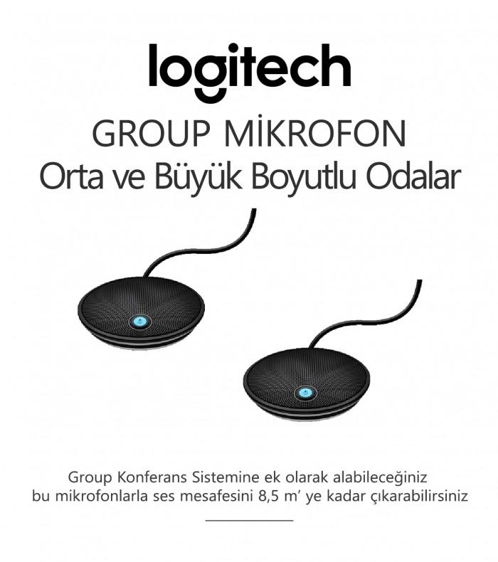 Logitech GROUP MİKROFON