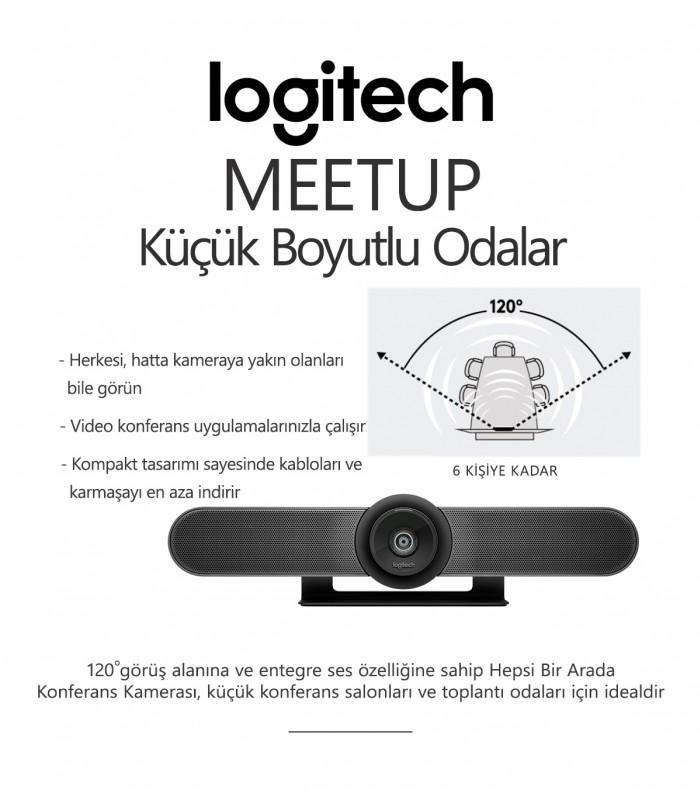 Logitech MEETUP Konferans Sistemi