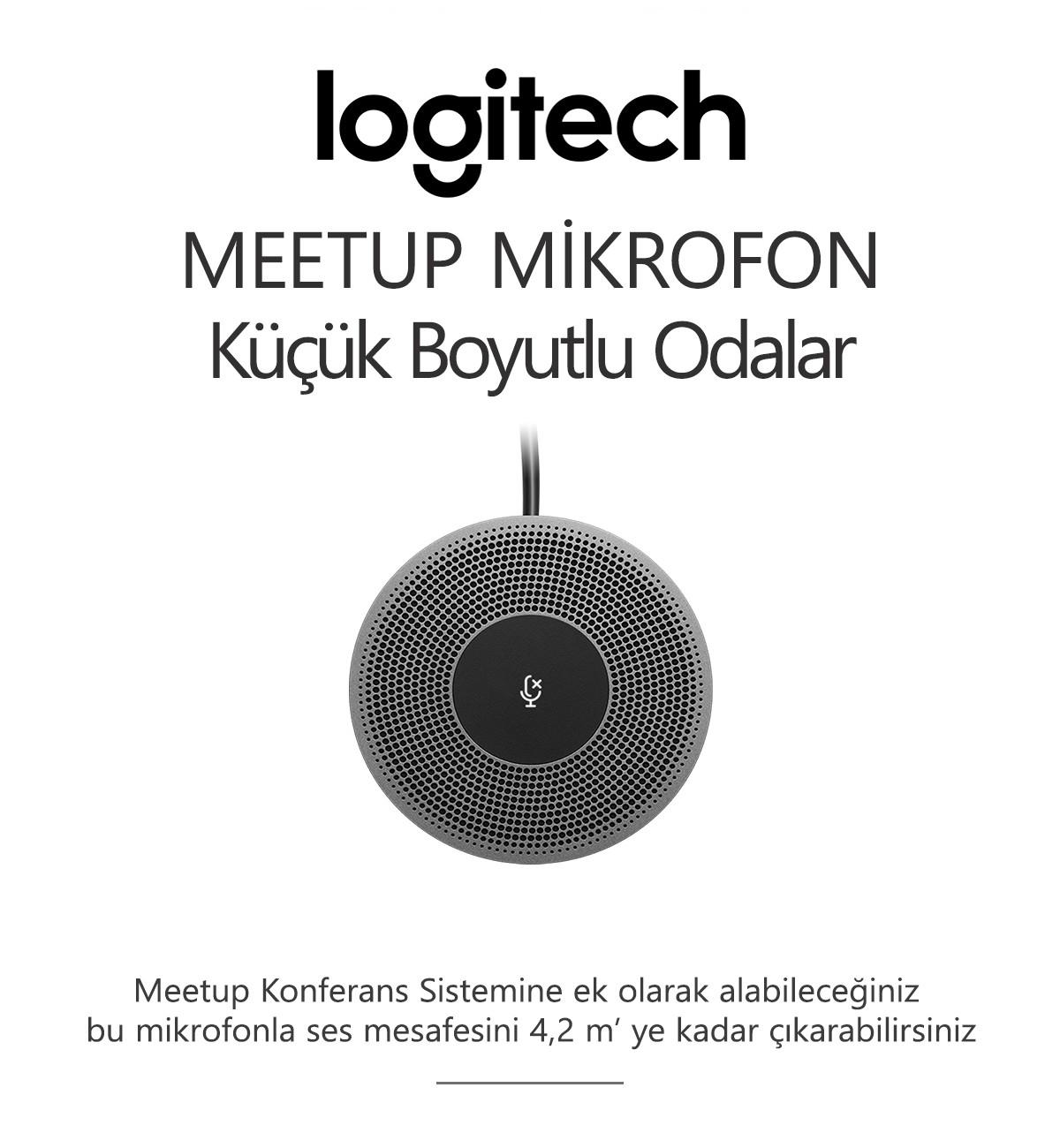 Logitech MEETUP MİKROFON
