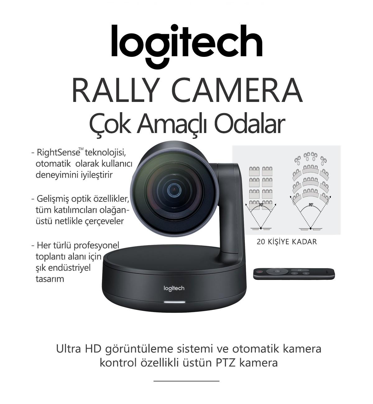 Logitech RALLY CAMERA Konferans Sistemi
