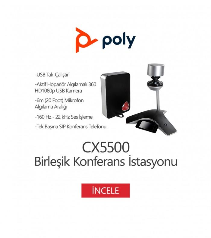 Poly CX5500 Birleşik Konferans İstasyonu