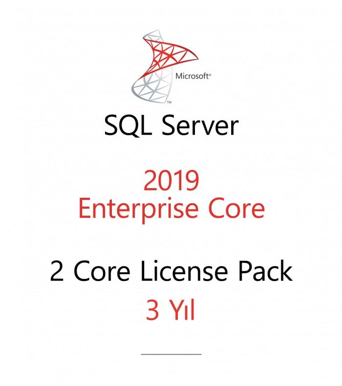 SQL Server Enterprise 2 Core License Pack 3 year