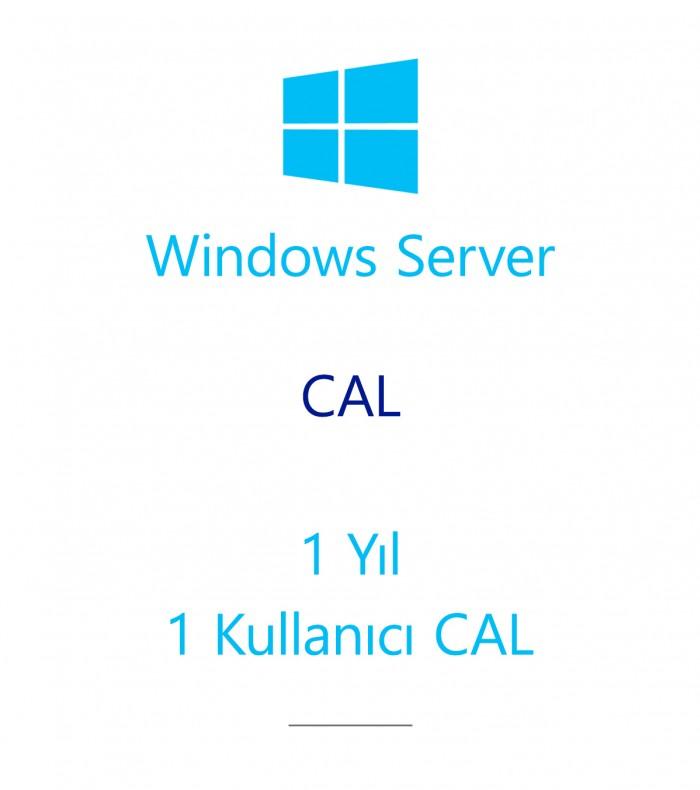 Windows Server  CAL 1 Year - 1 User CAL
