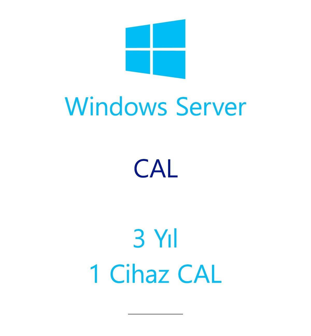 Windows Server  CAL 3 Year - 1 Device CAL