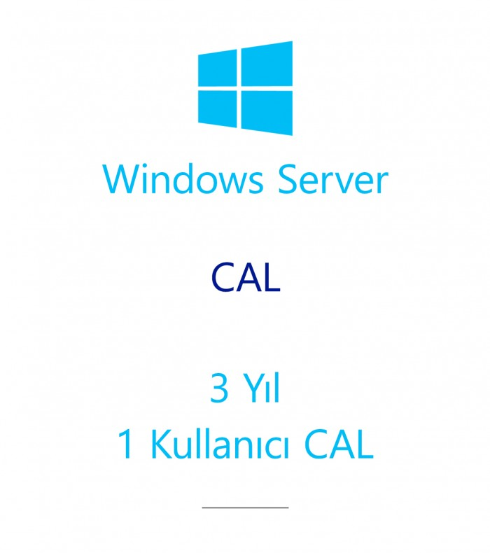 Windows Server  CAL 3 Year - 1 User CAL