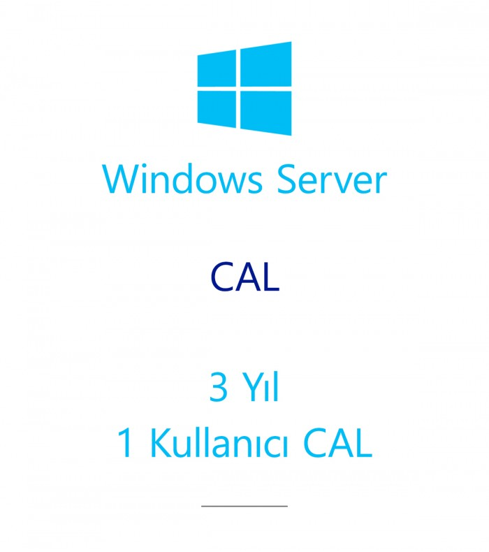 Windows Server  CAL 3 Year - 1 User CAL