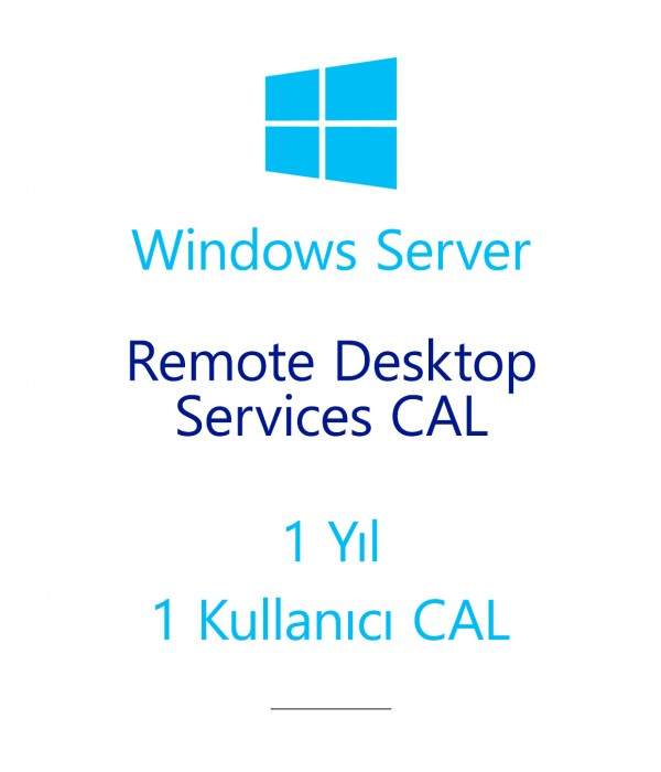 Windows Server Remote Desktop Services CAL 1 Year - 1 User CAL