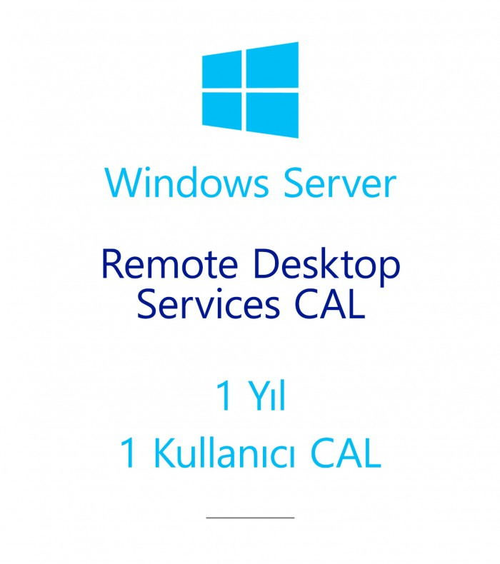 Windows Server Remote Desktop Services CAL 1 Year - 1 User CAL
