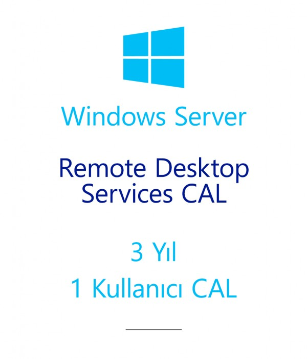 Windows Server Remote Desktop Services CAL 3 Year - 1 User CAL